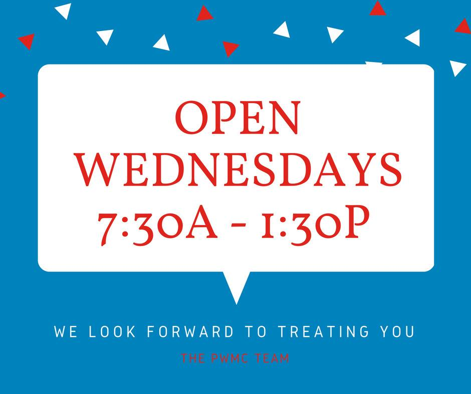 Open Wednesdays